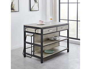 Carson Grey Kitchen Table, , large