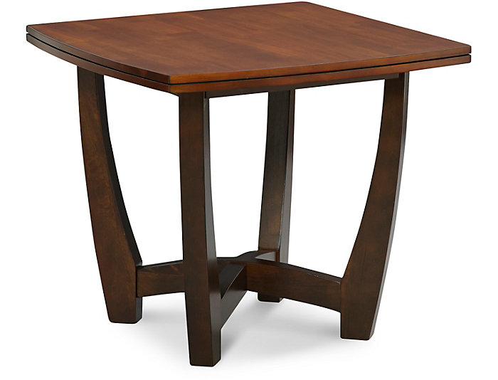 Kenzo End Table, Brown, , large