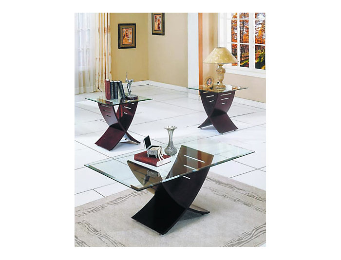 Cafe Coffee & 2 End Tables, , large