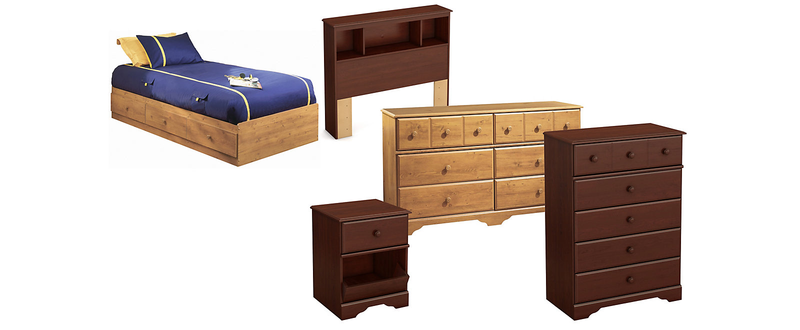Treasures Bedroom Collection, , large