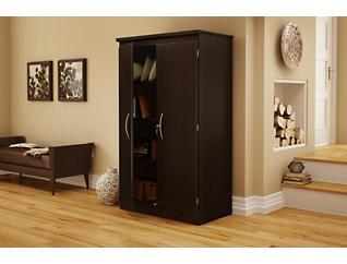 Bruno Brown Storage Cabinet, , large
