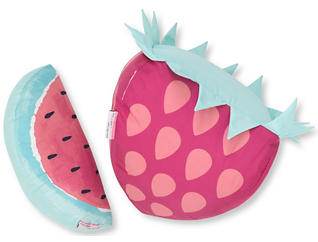 Watermelon & Berry Pillows, , large