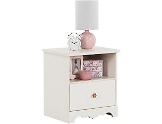 lily rose white nightstand