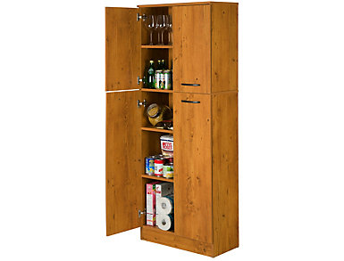 Axess Pine Storage Pantry, , large
