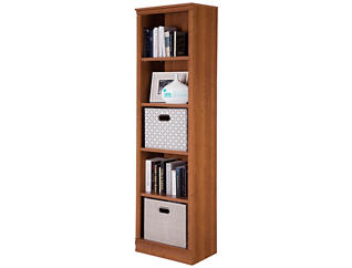 Axess Narrow Morgan Bookcase, , large