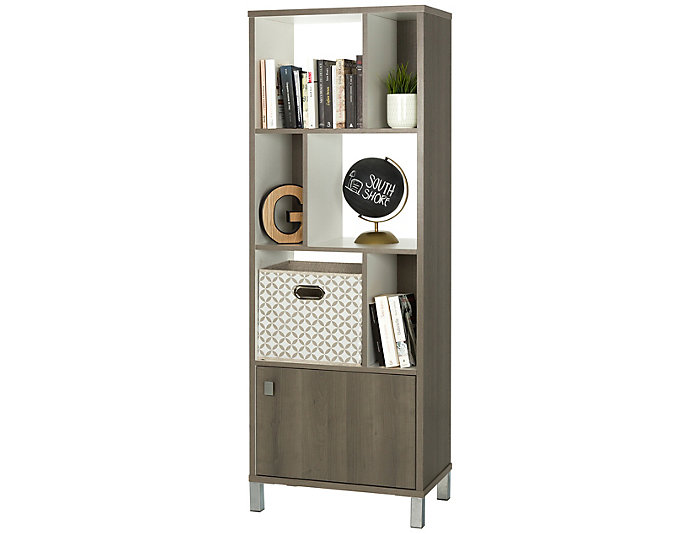 "Expoz 65"" Narrow Bookcase, , large"
