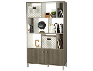 "Expoz 65"" Wide Bookcase, , large"