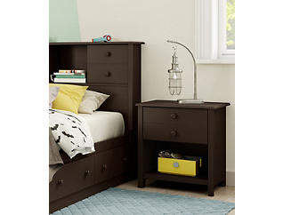 Little Smiley Brown Nightstand, , large
