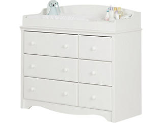Angel White Changing Table, , large