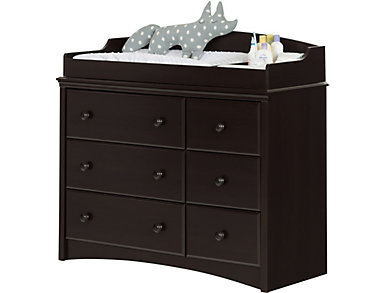 Angel Espresso Changing Table, , large