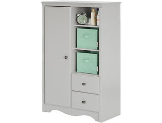 Angel Gray Armoire, , large