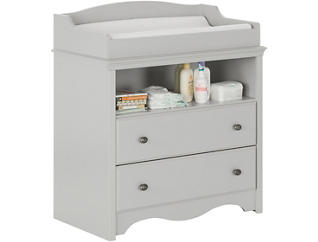 Angel Gray Changing Table, , large