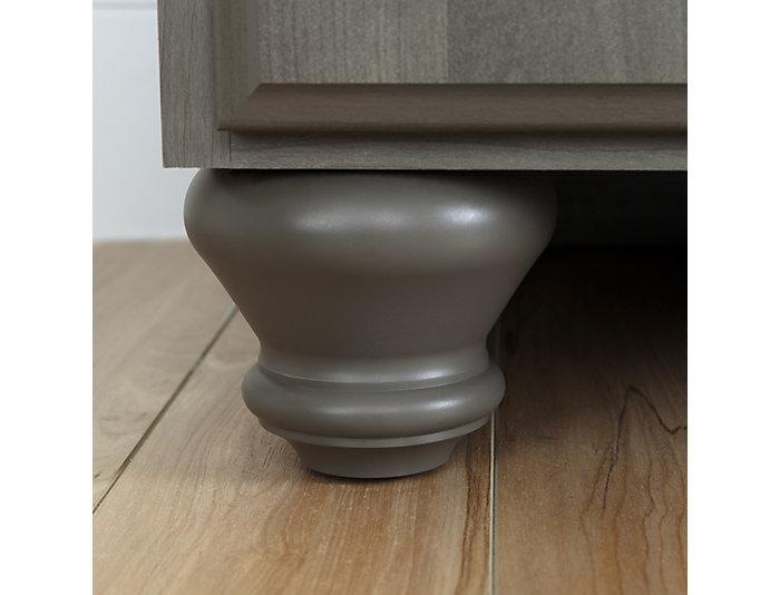 Noble Gray 5-Drawer Dresser, , large