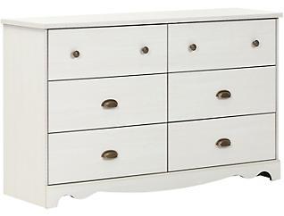 Caravell White Dresser, , large