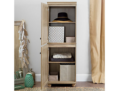"Brewntwood 62"" Oak Cabinet, , large"