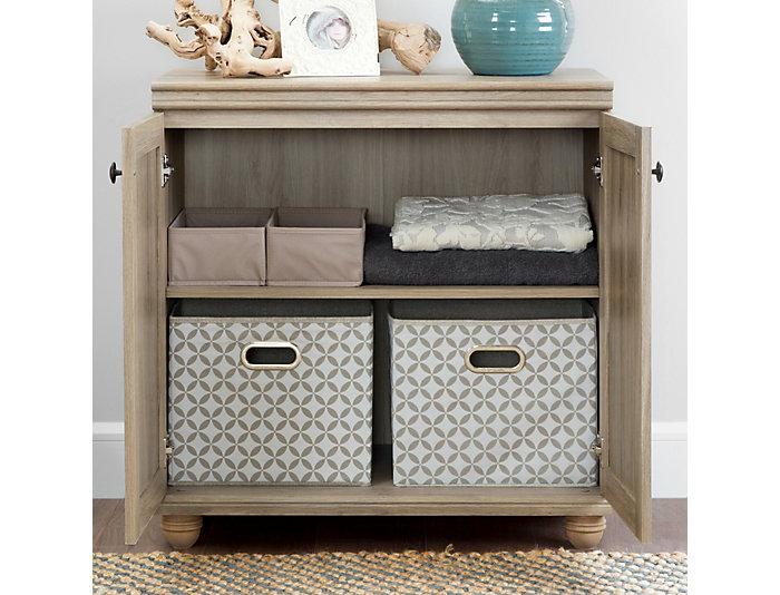 Viviano Rustic Oak Cabinet, Beige, , large