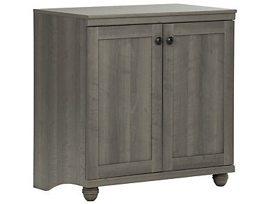 Viviano Gray Storage Cabinet, , large