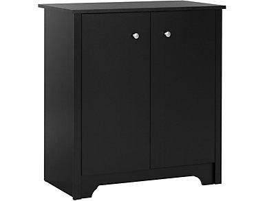 Britta Black Storage Cabinet, , large