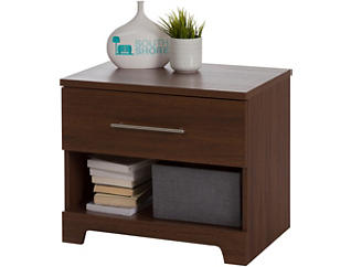 Primo Brown Walnut Nightstand, , large