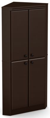 Willa 4 Door Armoire, Chocolate, swatch