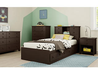Little Smileys Twin Mates Bed, , large
