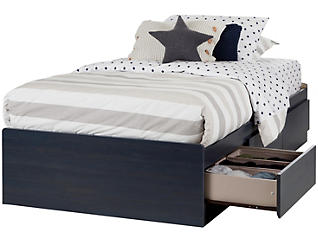 Aviron Blue Twin Mates Bed, , large