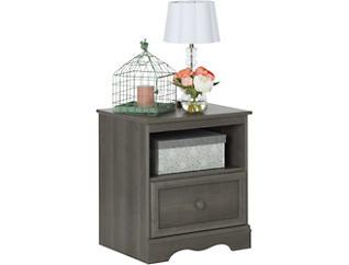 Savannah Gray Maple Nightstand, , large