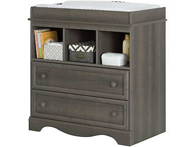 Savannah Gray Changing Table, , large
