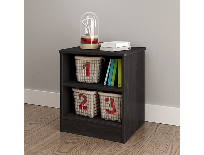 Libra Gray Oak Nightstand, , large