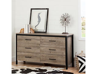 Munich Dresser Black and Oak, , large