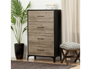 Valet 4 Drawer Chest, , large