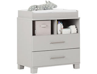 Cuddly Gray Changing Station, , large