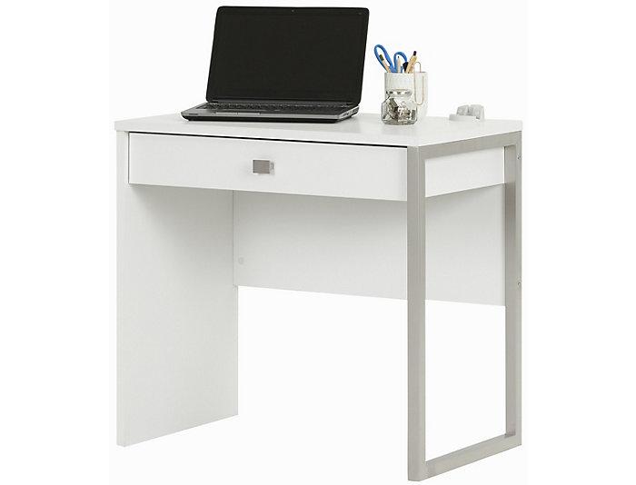 Interface I White Desk, , large