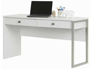 Interface II White Desk, , large