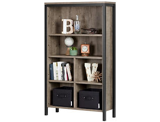 "Munich Oak 59"" Bookcase, , large"