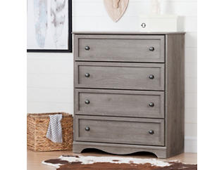 Savannah Sand 4 and Drawer Chest, , large