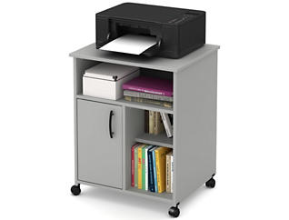 Axess I Grey Printer Cart, , large