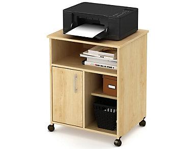 Axess I Maple Printer Cart, , large