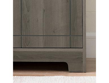 Vietti Bar Cabinet, Grey, large