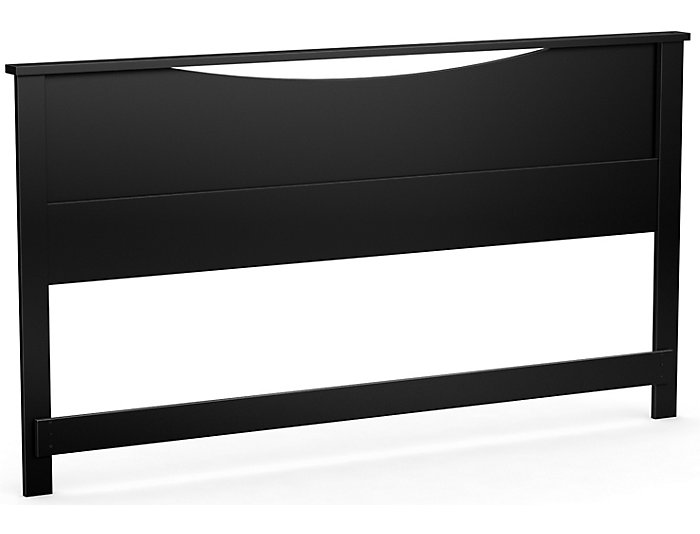 Step 1 King Black Headboard, , large