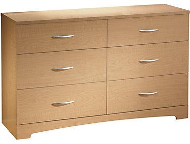 Step 1 Natural Maple Dresser, , large