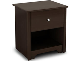 Vito Chocolate Nightstand, , large