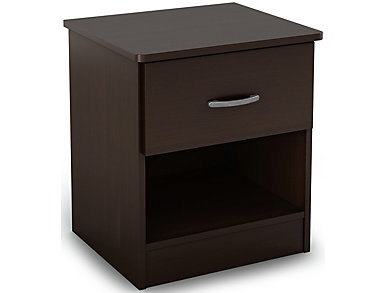 Libra Chocolate Nightstand, , large