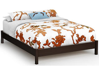 Step 1 Queen Chocolate Bed, , large