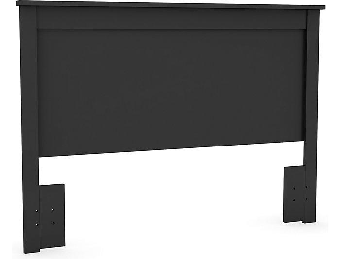 Vito Queen Black Headboard, , large