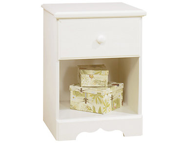 Summer Breeze White Nightstand, , large