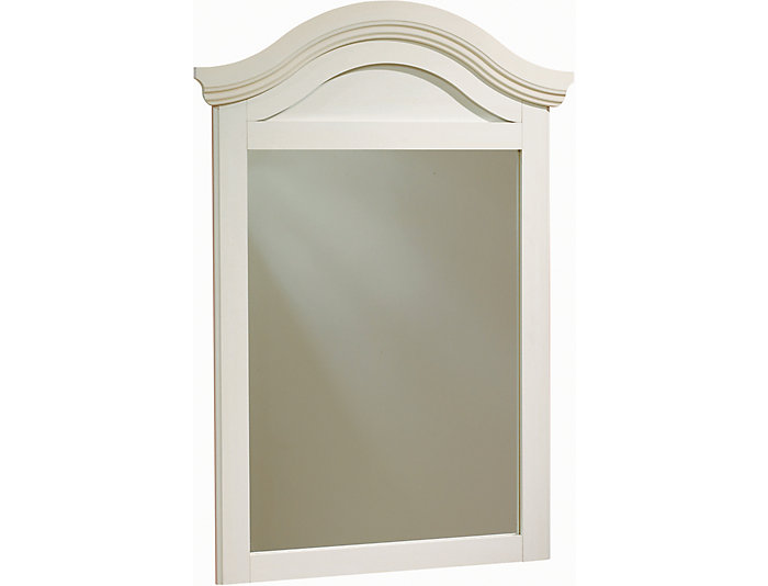 Summer Breeze White Mirror, , large