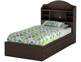 Summer Breeze Twin Brown Bed, , large