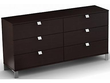 Spark Chocolate Dresser, , large