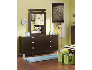 Spark Chocolate Dresser, , large